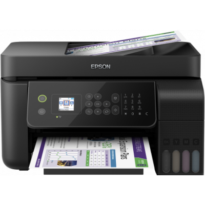 Epson L5190 színes, multifunkciós, wifis, hálózati, faxos külső tartályos nyomtató