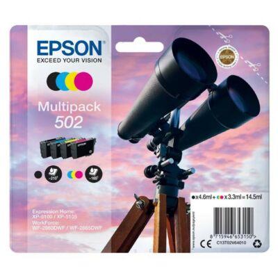 Epson Nr.502 eredeti tintapatron multipakk (C13T02V64010) 14,5ml (≈ 705 oldal)