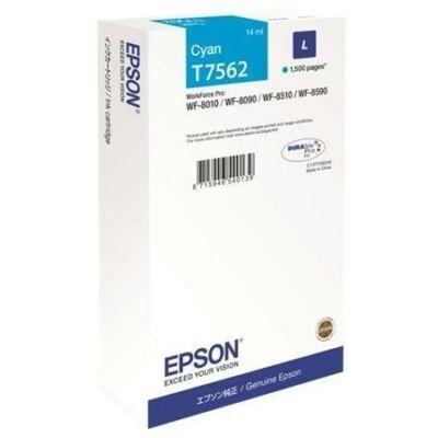 Epson T7562 eredeti cián tintapatron, ~1500 oldal