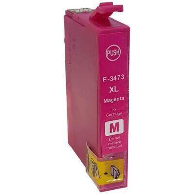 Epson T3473 (Nr. 34XL) utángyártott magenta tintapatron  (≈950 oldal)