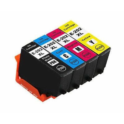 Epson- hoz 202XL (T02H1) utángyártott fotó fekete XL tintapatron, ~800 oldal