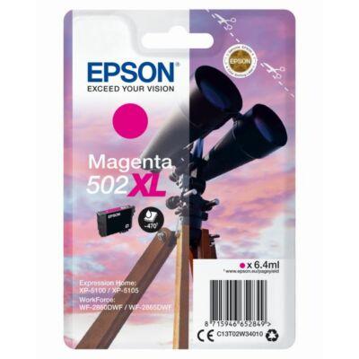 Epson Nr.502XL eredeti magenta tinta (C13T02W34010) 6,4ml (≈470 oldal)