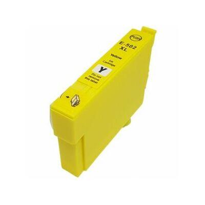 Epson-hoz Nr.502XL utángyártott sárga tinta 12ml