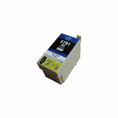 Epson -hoz T2791 (Nr. 27XXL) utángyártott fekete tintapatron  (≈2200oldal)
