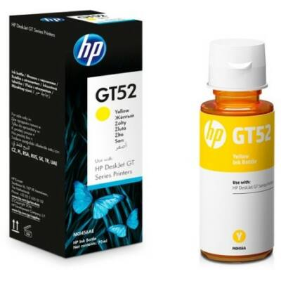 HP Nr.GT52 (M0H56AE) eredeti sárga tinta, ~8000 oldal