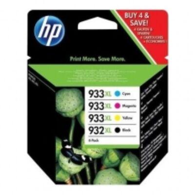 HP Nr.932XL/933XL (C2P42AE) eredeti (fekete-cián-magenta-sárga) tintapatron multipakk,  ~ 3475  oldal