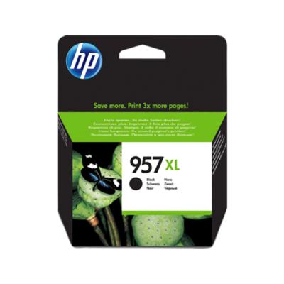 HP Nr.957XL (L0R40AE) eredeti fekete tintapatron, ~3000 oldal
