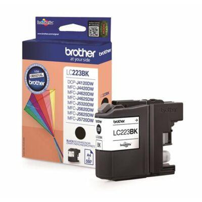 Brother LC223 Bk (fekete) eredeti tintapatron