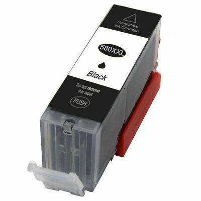 Canon-hoz, PGI-580XXL PGBK utángyártott tintapatron, ~600 oldal (vastag fekete)
