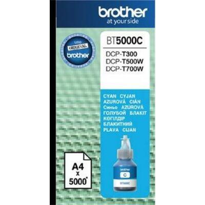 Brother BT5000C cián eredeti tinta DCP-T300/T500W/T700W/MFC-T800W nyomtatókhoz