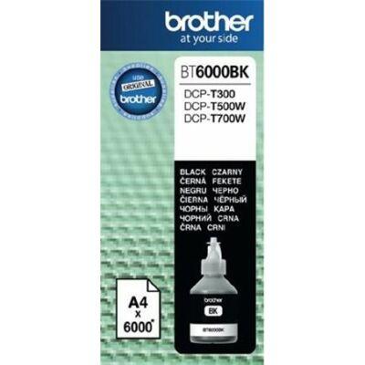 Brother BT6000 fekete eredeti tinta DCP-T300/T500W/T700W/MFC-T800W nyomtatókhoz