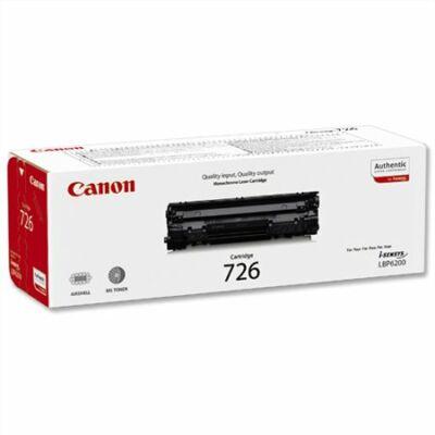 Canon CRG-726 eredeti fekete toner (CRG726) 2,1K (≈2100 oldal)