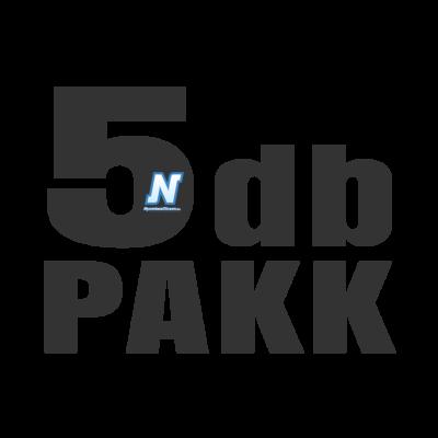 5db-os PAKK, HP -hez Nr.655 utángyártott tintapatron, 2XBK/C/M/Y 5X~600 oldal (minden szín)
