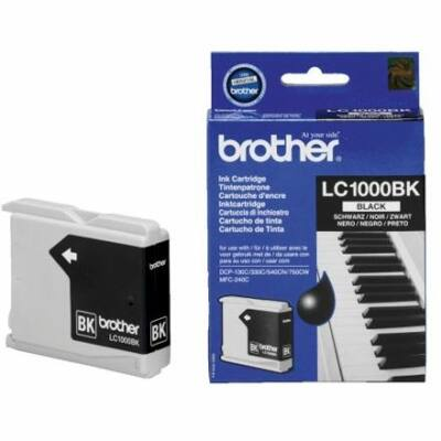 Brother LC1000 Bk eredeti tintapatron (LC1000, LC-1000)