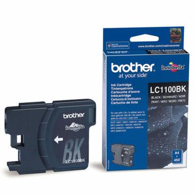 Brother LC1100 BK eredeti tintapatron ~450 oldal (LC1100)