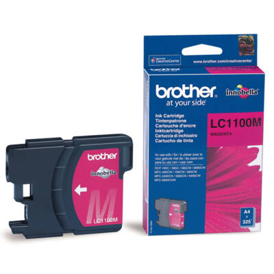 Brother LC1100 M eredeti tintapatron ~325 oldal (LC1100)