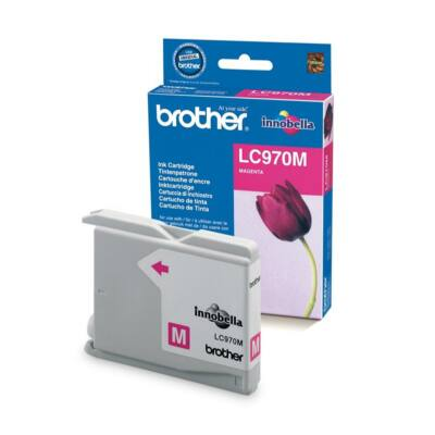 Brother LC970 M eredeti tintapatron (LC970)