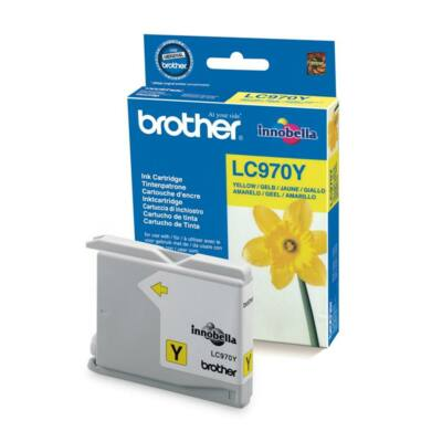 Brother LC970 Y eredeti tintapatron (LC970)