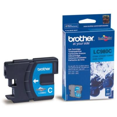Brother LC980 C cián eredeti tintapatron