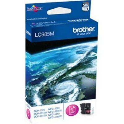 Brother LC985 M eredeti tintapatron, magenta