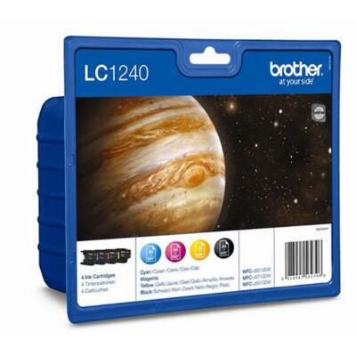 Brother LC1240 BK/C/M/Y  4db pakk eredeti tintapatron 4*600 oldal