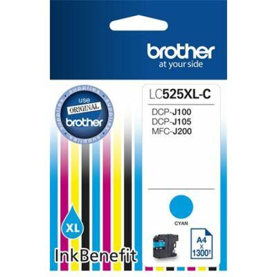 Brother LC525 cián eredeti tintapatron (1300 oldal)