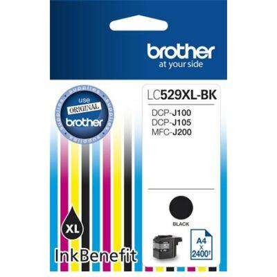 Brother LC529 fekete eredeti tintapatron (2400 oldal)