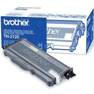 Brother TN 2120 eredeti toner (2600 old.) (TN2120) (≈2600 oldal)