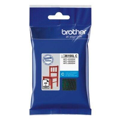 Brother LC3619XL C (cián) eredeti nagy kapacitású tintapatron (~1500 oldal)