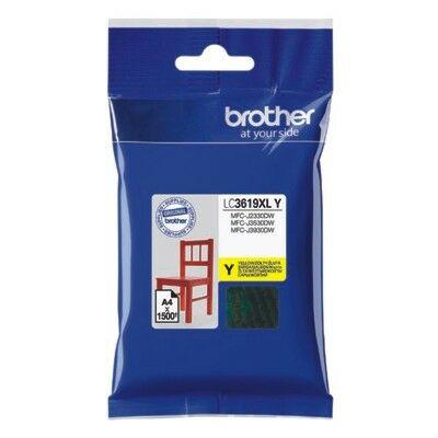 Brother LC3619XL Y (sárga) eredeti nagy kapacitású tintapatron (~1500 oldal)