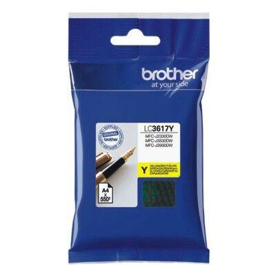 Brother LC3617 Y (sárga) eredeti tintapatron (~550 oldal)