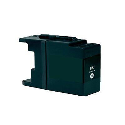 Brother -höz LC1240/LC1280XL Bk (fekete) utángyártott tintapatron (~1200 oldal)