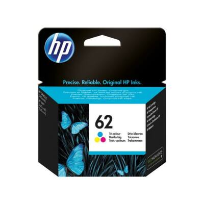 HP Nr.62 (C2P06AE) eredeti színes tintapatron, ~165 oldal