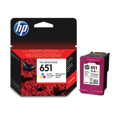 HP Nr.651 (C2P11AE) eredeti színes tintapatron, ~300 oldal
