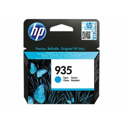 HP Nr.935 (C2P20AE) eredeti cián tintapatron, ~400 oldal