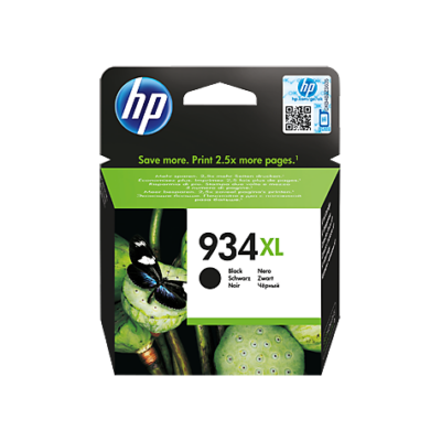 HP Nr.934XL (C2P23AE) eredeti fekete tintapatron, ~1000 oldal