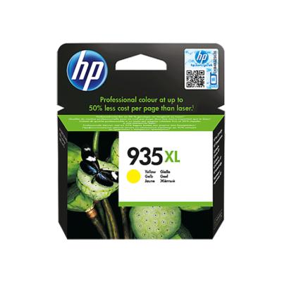 HP Nr.935XL (C2P26AE) eredeti sárga tintapatron, ~825 oldal