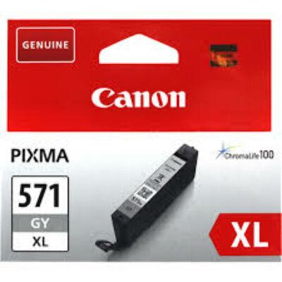 Canon® CLI-571GY XL eredeti szürke tintapatron, ~715 oldal (cli571)