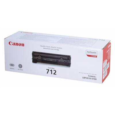 Canon CRG-712 eredeti toner (≈1500 oldal)