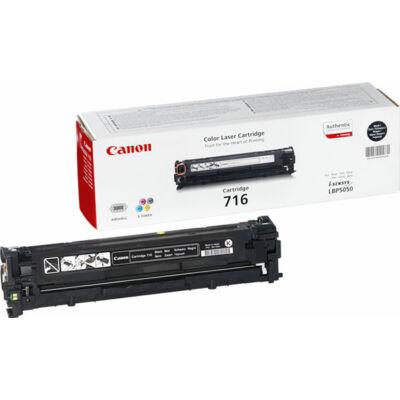 Canon CRG-716 bk (fekete) eredeti toner (crg716) (≈2300 oldal)