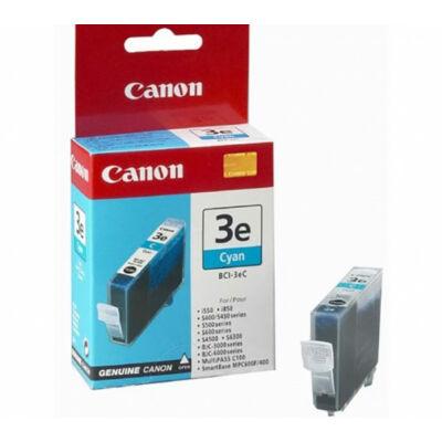 Canon® BCI-3eC eredeti cián tintapatron, ~390 oldal (bci3)