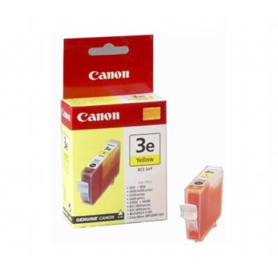 Canon® BCI-3eY eredeti sárga tintapatron, ~390 oldal (bci3)