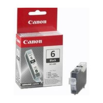 Canon® BCI-6BK eredeti fekete tintapatron, ~420 oldal (bci6 vékony fekete)