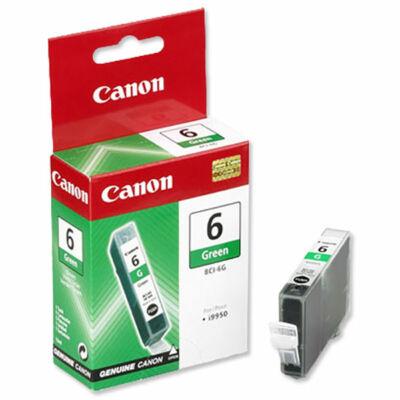 Canon® BCI-6G eredeti zöld tintapatron, ~280 oldal (bci6)