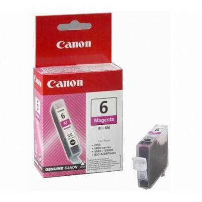 Canon® BCI-6M eredeti magenta tintapatron, ~420 oldal (bci6)