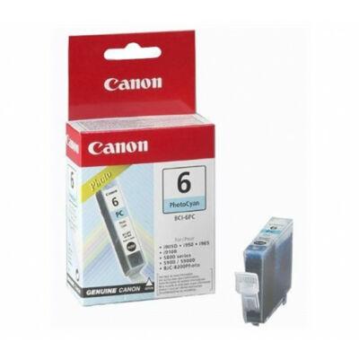 Canon® BCI-6PC eredeti fotó cián tintapatron (bci6)