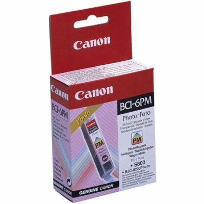 Canon® BCI-6PM eredeti fotó magenta tintapatron, ~280 oldal (bci6)