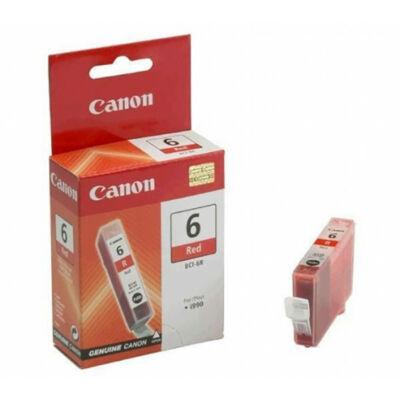 Canon® BCI-6R eredeti piros tintapatron, ~280 oldal (bci6)