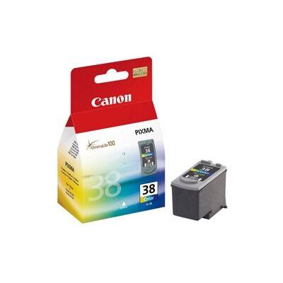 Canon® CL-38 eredeti színes tintapatron, ~115 oldal (cl38)
