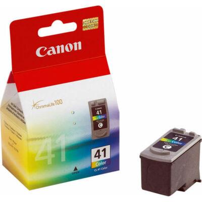 Canon® CL-41 eredeti színes tintapatron, ~300 oldal (cl41)